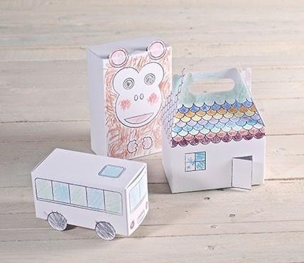 Kit de boîtes à colorier