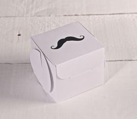 """Boîte cadeau """"Moustache"""". Tirage limité"""