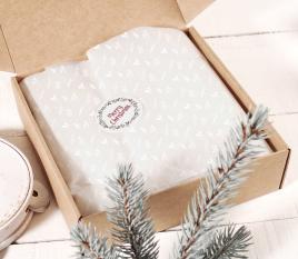 Papier de soie blanc pour cadeaux