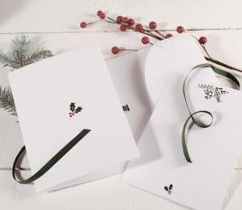 Pochette pour carte de Noël