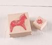 """Kit de tampons """"Petit cheval de Noël"""""""