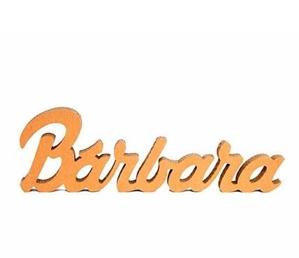 Lettres décoratives prénom en carton