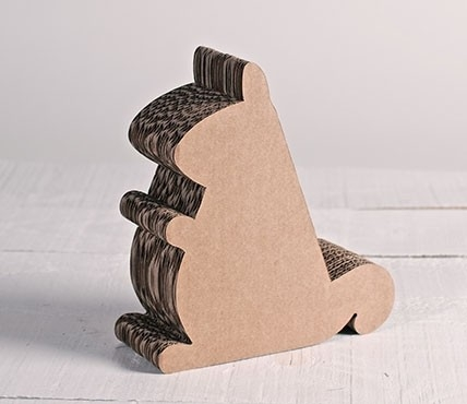 Support pour iPad en carton - écureuil en carton
