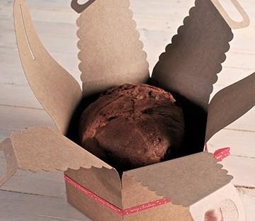 Boîte pour cakes aux fruits