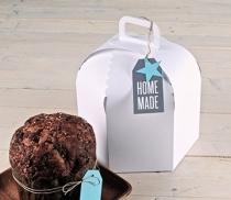 Boîte carton à gâteaux et panettones