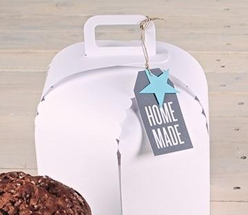 Boîte pour gâteaux faits maison