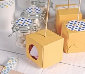 Boîte à cake pop individuelle