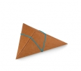 Boîte carton triangulaire pour mariage