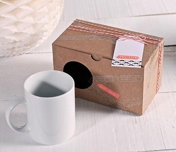 Boîte en carton pour 2 mugs