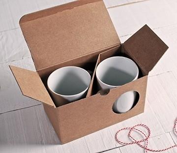 Boîte pour 2 tasses