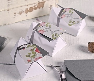 Petite boîte idéale pour les cadeaux aux invités