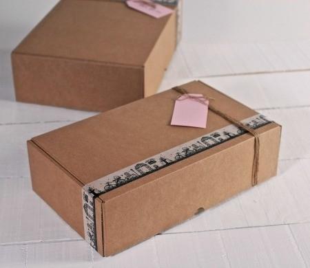 Boîtes postales en carton