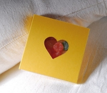 Boîte carton à bonbons et biscuits