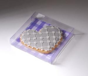 Boîte à biscuits en plastique