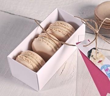 Boites à macarons pour offrir en cadeaux