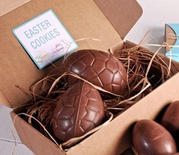 Boîtes en carton pour oeufs de Pâques