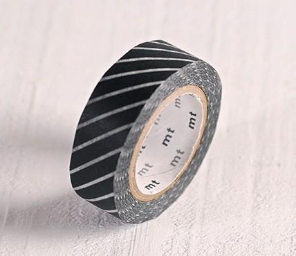 Washi tape lignes noires