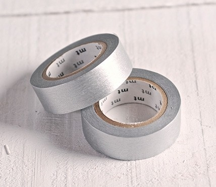 Washi Tape MT Argenté