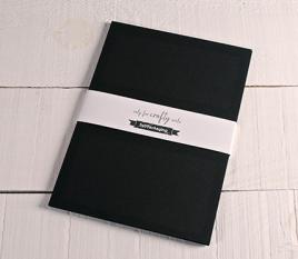 Papier noir cartonné A4