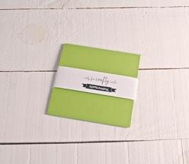 Papier cartonné vert pistache 16,5x16,5cm