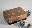 Boîte cadeau avec couvercle - spécial Noël