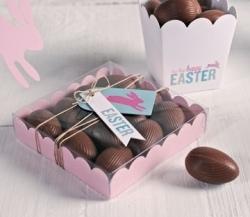 Boîtes à oeufs en chocolat