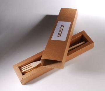 Boîte allongée pour cadeaux promotionnels
