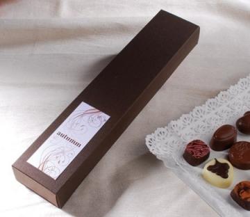Boîte plate pour chocolats