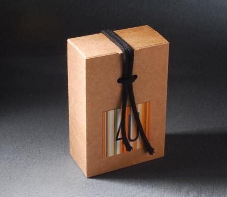 Boîte cadeau d'entreprise  avec corde