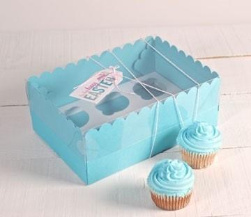Boîtes pour 6 hauts cupcakes