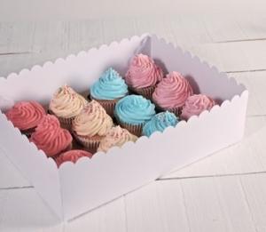 Boîtes hautes pour 12 cupcakes