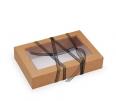 Boîte carton couvercle en plastique