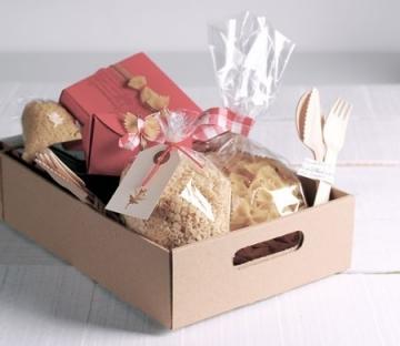 Boîte pour paniers cadeaux