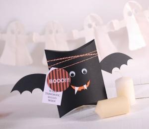 Boîte chauve-souris d'Halloween