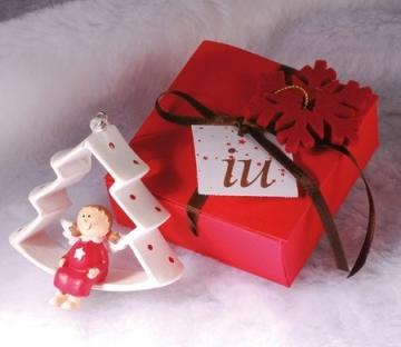 Petite boîte cadeau de Noël
