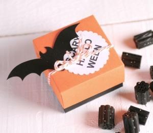Petite Boîte à Bonbons pour Halloween