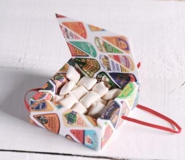 Boîte à Bonbons Imprimée