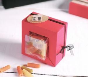 Boîte transparente pour Mariage
