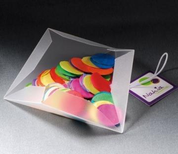 Petite boîte triangulaire pour des fêtes d'enfants