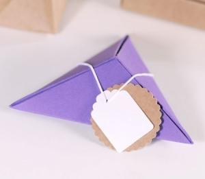 Boîte cadeau pyramidal