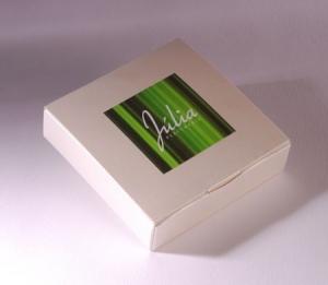 Boîte Carrée pour Clé USB