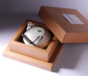 Boîte cadeau carrée avec couvercle