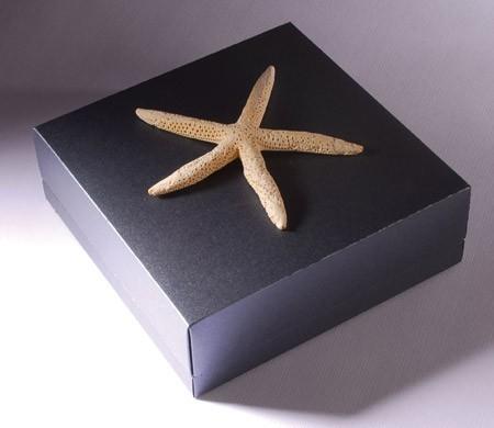 Boîte cadeau carrée en carton