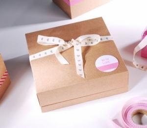 Boîte carré pour chocolats