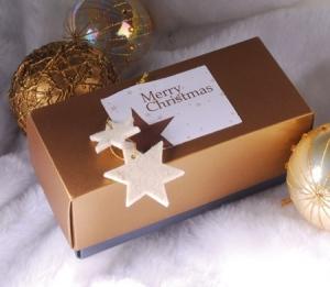 Petite boîte rectangulaire pour Noël