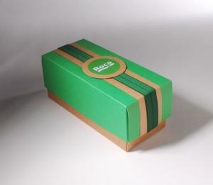 Petite boîte en carton pour sels de bain