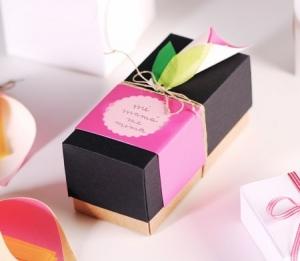 Petite boîte cadeau pour la fête des mères