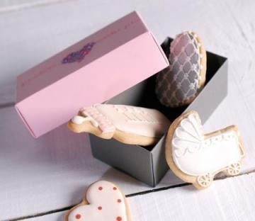 Petite boîte à cookies pour mariage