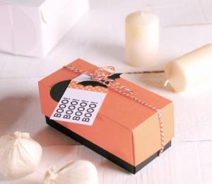 Petite boîte rectangulaire pour Halloween