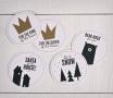 Stickers pour décorer les cadeaux de Noël